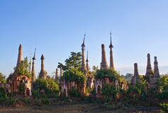 Ancient Shwe Inn Thein Pagoda in Myanmar Stock Images