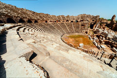 Ancient Side Amphitheatre Stock Image