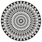 Ancient sign symmetric mandala. Can be used to print on Royalty Free Stock Images