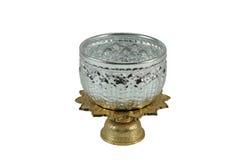 Ancient Silverware on goldware Stock Photos