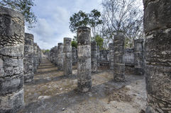 Ancient site of Chichen ize in Yukatan region of Mexico Royalty Free Stock Photo