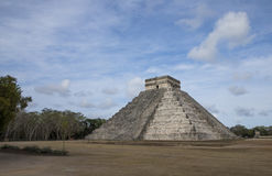 Ancient site of Chichen ize in Yukatan region of Mexico Royalty Free Stock Images