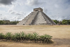 Ancient site of Chichen ize in Yukatan region of Mexico Stock Images