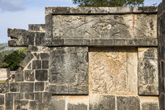 Ancient site of Chichen ize in Yukatan region of Mexico Royalty Free Stock Photos