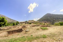 Ancient site of Mycenae, Greece Royalty Free Stock Photography