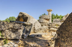Ancient site of Olympia, Greece Stock Photography