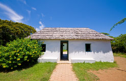Ancient slave house. On curacao cas di palhi mashi Stock Photos
