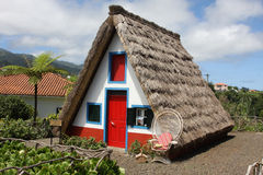 Ancient small house of the poor man Royalty Free Stock Images