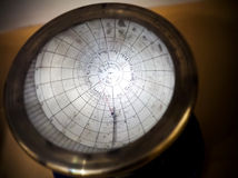 Ancient solar calendar Stock Photo