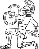 Ancient soldier Royalty Free Stock Photography
