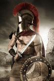 Ancient soldier or Gladiator Stock Photo
