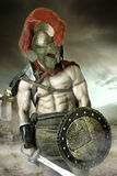 Ancient soldier or Gladiator Stock Photos