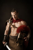 Ancient soldier or Gladiator Royalty Free Stock Images