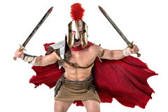 Ancient soldier or Gladiator Royalty Free Stock Photography