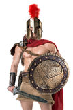 Ancient soldier or Gladiator Stock Image