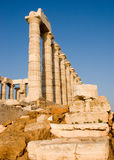 Ancient Sounion Stock Photos