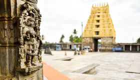 Ancient South Indian Temple Stock Photography