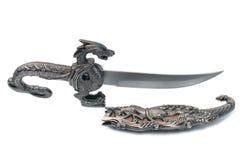 Ancient souvenir dagger Stock Images