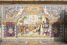 Ancient Spain Mosaic Royalty Free Stock Photos