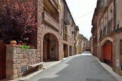 The ancient Spanish village Prades Royalty Free Stock Image