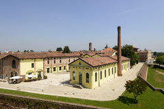 Ancient spinning mill, Soncino Stock Photography