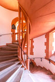 Ancient spiral staircase Royalty Free Stock Photos