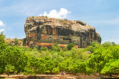 Sigiriya Rock Fortress Stock Images