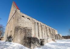 Ancient St. Brigitta convent Stock Photo