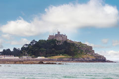 Ancient St Michaels Mount castle Cornwall England Stock Photo
