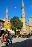 Ancient  St Sophia Cathedral  which now is Selimiye Mosque, North Cyprus Royalty Free Stock Image