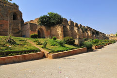 Ancient Stables of Meknes. The ancient stables of Meknes in Morocco Royalty Free Stock Photography