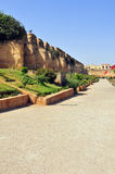 Ancient Stables of Meknes. The ancient stables of Meknes in Morocco Royalty Free Stock Photo