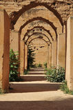 Ancient Stables of Meknes. The ancient stables of Meknes in Morocco Stock Image