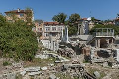 The ancient stadium Philipopolis in Plovdiv, Bulgaria. Royalty Free Stock Photos