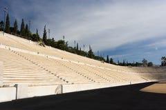 Ancient Stadium Side Stock Photography