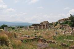 Ancient Stadt in der Türkei Lizenzfreies Stockfoto