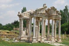 Ancient Stadt in der Türkei Stockfotos