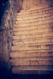 Ancient stairs Royalty Free Stock Image