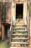 Ancient stairs. Royalty Free Stock Photography