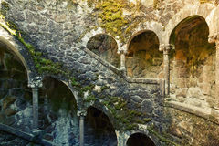 Ancient stairs with moss Stock Images