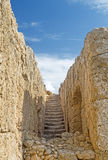 Ancient stairs in Paphos Stock Photography