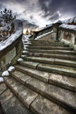 Ancient stairway Royalty Free Stock Photo