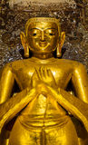 Ancient standing Buddha Stock Images