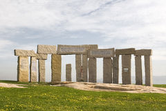 Ancient standing stone henge Royalty Free Stock Photography
