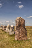 Ancient standing stones Royalty Free Stock Image