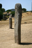 Ancient statue. Ancient megalith statue Royalty Free Stock Image