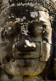 Ancient statue in Angkor Wat, Cambodia Stock Photos