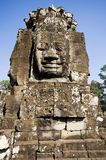 Ancient statue in Angkor Wat, Cambodia Stock Photo