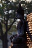 Ancient Statue of Buddha Sukhothai Thailand Royalty Free Stock Images