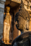 Ancient Statue of Buddha Sukhothai Thailand Stock Image